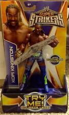WWE Super Strikers Kofi Kingston Action Figure with Bodyslam Move New MISB
