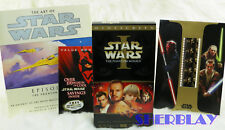 STAR WARS Episode I The Phantom Menace VHS Widescreen Collector's Edition