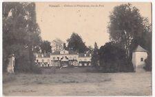 France; Vineuil, Chateau De Pimpenau PPC, 1913, Loir Et Cher