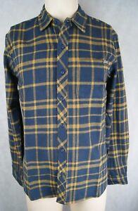 Ezekiel Flanell Hemd Shirt T-Shirt Farbe Blue check Größe L