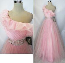 NWT Mac Duggal Ice Pink $458 Wedding Ball Prom Gown 10
