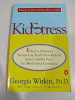 Kid Stress Georgia Witkin 1999 - LIBRO Ingles - 3T