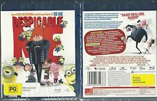 DESPICABLE ME RUSSELL BRAND STEVE CARELL WONDERFUL NEW BLURAY AUSTRALIA REGION B