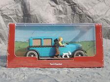 En voiture TINTIN Atlas réf. 003. L Taxi Checker de Tintin en Amérique.