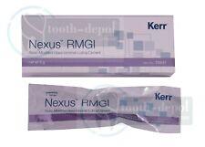 Kerr Nexus RMGI Resin Modified Glass Ionomer Luting Dental Cement 5 G Syringe US