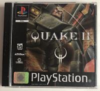 Quake II 2 PS1 Game PlayStation 1