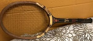 VINTAGE MAGNAN ARROW WOODEN TENNIS RACKET PHIL OF RAGBY NORTH ATTLEBORO, MASS.