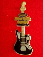 HRC Hard Rock Hotel Hollywood Fender era Guitar Series 2010 Black Jaguar le200
