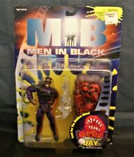 Men in Black Action Figure - Flame Blastin Jay - Galoob 1997 Will Smith