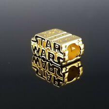 NEW Pandora Shine Star Wars 3D Logo Charm 2020 Gold