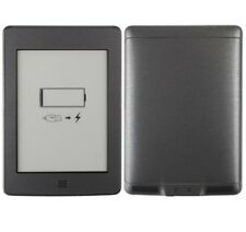 Skinomi Brushed Steel e-Reader Skin+Screen Protector for Amazon Kindle Touch 3G