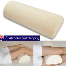 Slow Rebound Memory Foam Sleeping Lumbar Pillow Waist Neck Support Knee Cushion