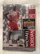 1999 Upper Deck Michael Jordan 23 card Retirement Basketball Factory sealed sets