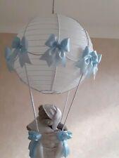 Tatty Teddy Hot Air Balloon Nursery Light/Lamp shade  Custom made