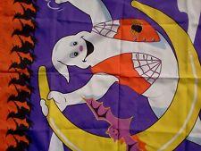 New listing 1996 National Homecraft Halloween Flag Bat Ghost W/Tag #862