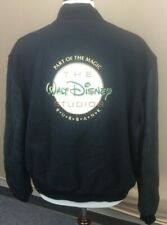 RARE Walt Disney Studios Buena Vista Burbank Wool & Leather Lettermans Jacket XL