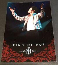 MICHAEL JACKSON 2011 Panini PLATINUM Parallel SP #18 The King Of Pop VERY RARE