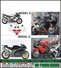 kit adesivi stickers compatibili  rsv 1000 r 2006