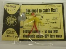 Rare Keel Guard Fishing Lure Fan Dancer 12A-214 Trout Bass Collectible