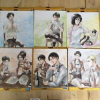 Attack on Titan - Illustration board 1bankuji CCH - Levi Erwin Eren Mikasa Hans