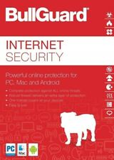 Bullguard Internet Security 2020. 3 Devices for 12 months. - PC, Android, Mac