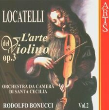 ST.CECILIA CAMERA ORCHESTRA-P.A.LOCATELLI:L'ARTE DEL VIOLINO OP.3 VOL.2  CD NEW!