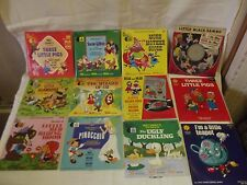 Disneyland Record And Books, Ugly Duckling, Snow White, Pinocchio, Wizard OZ