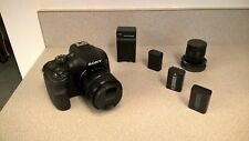 Sony Alpha a3000 20.1MP Digital Camera - Black with 18-55mm Lens and 35mm Prime