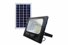 BES XJ8860 60W Faro LED da Esterno Luce Bianca Fredda con Pannello Solare - Nero