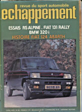 ECHAPPEMENT ; N°90 avril 1976 :  RENAULT 5 Alpine / Fiat Abarth 131 Rallye