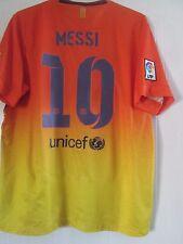 Barcelona Messi 10 2012-2013 lejos de fútbol camisa tamaño XL/41313