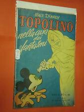 ALBO D'ORO-TOPOLINO n° 46-b-DEL 1951-casa dei fantasmi- LIRE 40-mondadori-disney