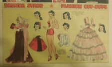 Brenda Starr Sunday with Large Uncut Paper Dolls from 1/25/1942 Full Size Page