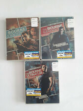 Bourne Identity Supremacy Ultimatum - Reel Heroes Steelbook (Bluray+DVD) NEU&OVP