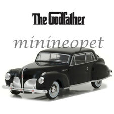 GREENLIGHT 86507 THE GODFATHER 1941 LINCOLN CONTINENTAL 1/43 DIECAST BLACK