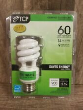 TCP 68914 Energy Smart CFL Spiral Light Bulb 14W Replaces 60W