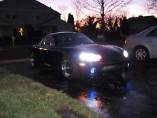 White Halo Angel Eye Fog Lamps Driving Lights Kit for 1999-2005 Mazda Miata MX-5