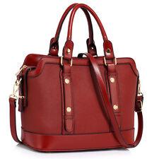 Women's Designer Handbag Faux Leather Ladies Large Stylish Tote Shoulder Bags