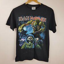 Iron Maiden T-Shirt Size S The Final Frontier Australia Hanes Heavyweight
