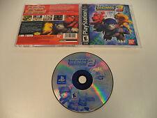 Digimon World 3 Playstation 1 PS1 Game 2002 Complete Black Label Rare Bandai