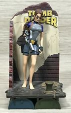 """Vintage 1998 Tomb Raider 9"""" Lara Croft Wet Suit Statue Display Playmates Toys"""
