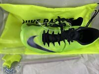 Nike Zoom Superfly Elite Track Running Spikes Green Men Sz 11.5 835996-300