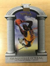 1997-98 Skybox Premium Competitive Advantage #4 Shaquille O'Neal Insert Lakers