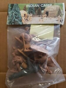 Vinyage Barszo indian camp Set Toy Soldiers