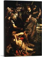 ARTCANVAS The Conversion of Saint Paul 1601 Canvas Art Print by Caravaggio