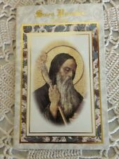 """""""ST.BENEDICT NOVENA *NEW* DEVOTIONAL. 24 pages, High Gloss Cover"""