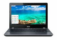 "Acer C740-C4PE 11.6"" Chromebook - Intel 3205U - 4GB RAM 16GB SSD C Grade"