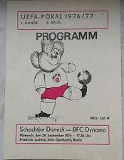 BFC Dynamo Programm Pokal 1988//89 Motor Babelsberg