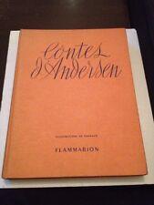 Contes D'andersen / Illustrations De Davanzo/Flammarion /1947.