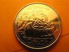 Canada 1999 May 25 Cent Mint Coin.